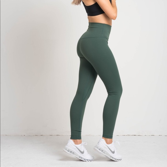 8e4a2fcad8 FLEXXFIT Pants | Luxe Leggings Sage Green | Poshmark